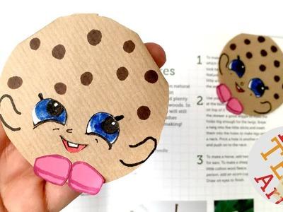 Easy Cookie Bookmark - Kooky Shopkins Inspired - Kawaii