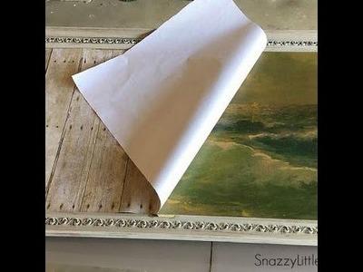 Easy Steps for Repurposing Old Canvas Art