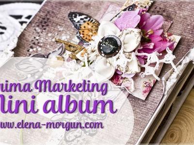Embellishing Mini Album Pages | Prima Marketing