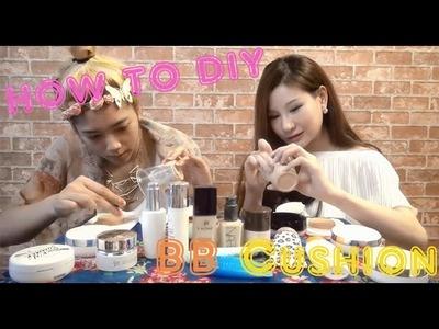 "How to DIY BB Cushion By Style Station ""มาลองทำ BB Cushion ของตัวเองกันเถอะ"""