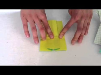 How To Fold an Origami Dress
