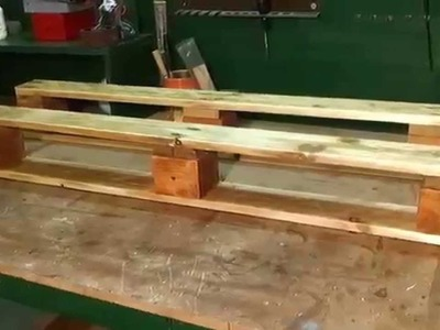 How to Make a Simple Pallet Shelf