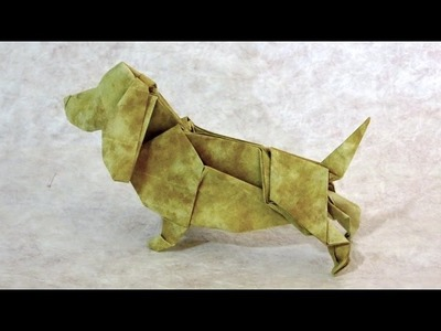 How to make an origami Basset Hound
