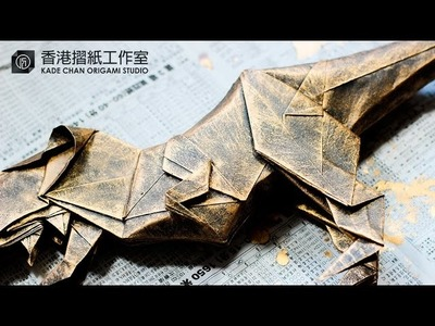 How to make your origami looks metallic ? 如何金屬化你的摺紙作品?
