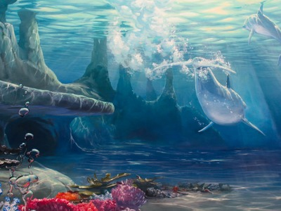 How To Paint Under Water Scenes