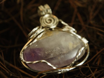 How to wire wrap small stone without holes