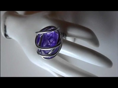 Howto: How to Make a Wire Wrapped Ring (Beginner.Easy.Simple)
