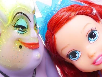 Little Mermaid Ariel Pranks Ursula * Disney Princess Petite Ariel & Sisters Set * DCTC Toys