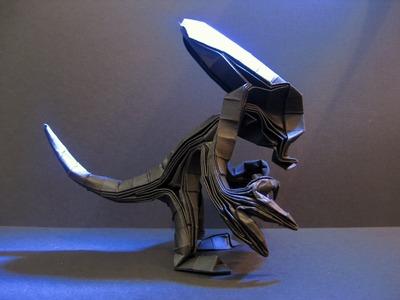 Origami Alien (Xenomorph) Tutorial (Tim Rickman)
