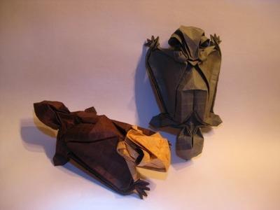 Origami Flying Squirrel Tutorial (Tim Rickman)