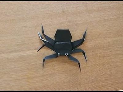 折り紙 Origami・くも Spider