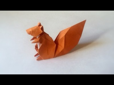 Origami Squirrel tutorial (Hideo Komatsu)
