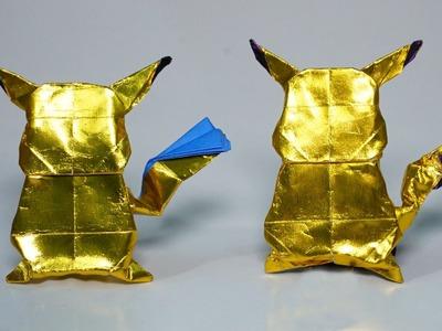 POKEMON - Easy origami Pikachu 2.0 tutorial (Henry Phạm)