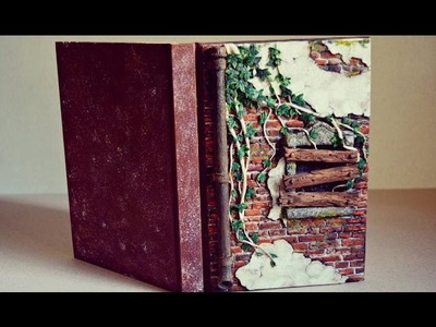 Polymer Clay Journal - Abandoned House