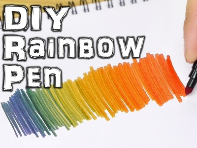 Rainbow Coloring Pen - Life Hacks for Kids