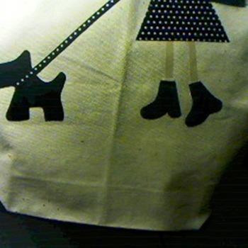 Tote Bag Dog walk