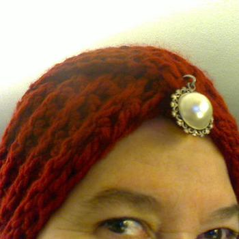 Turban in knitting