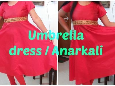 Umbrella Dress. Anarkali | DIY