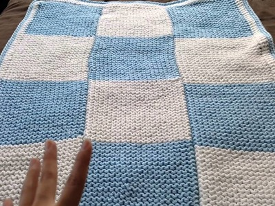 Yes I'm still loom knitting check this baby blanket out!
