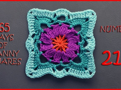 365 Days of Granny Squares Number 211