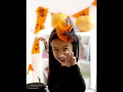 A Simple felt Witches Hat for you to sew by Debbie Shore