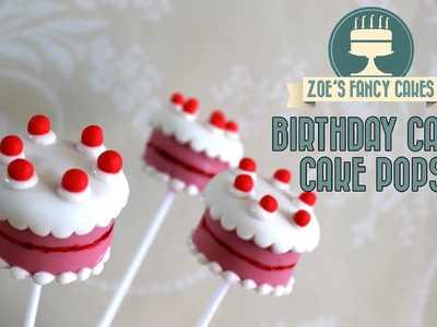 Birthday cake pops: How to make birthday cake cake pops