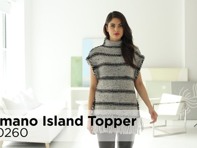 Camano Island Topper made with Wool-Ease® Thick & Quick®