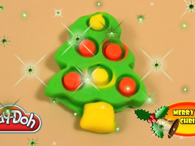 Christmas Play-Doh Creation Playdough Christmas Tree Santa Claus Decoration Toys | TheChildhoodLife
