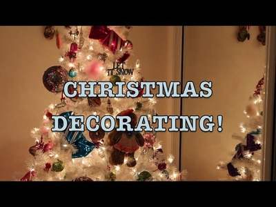 Decorating My Room for Christmas! ❆