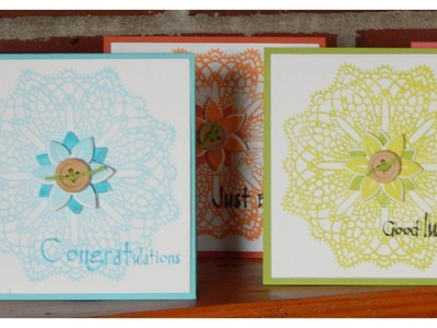 Doily Card Tutorial