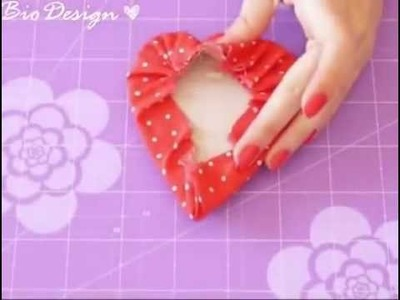 Fabric Hearts (no sew)! By: SweetBioDesign