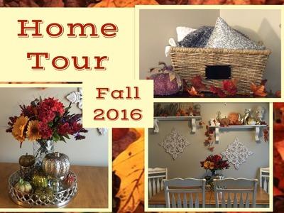 Fall Decor Home Tour 2016 | Autumn Decor