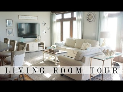 Foyer & Living Room Tour | House to Home