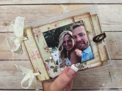 Gift Card Mini Album & Shaker Pocket Covers Tutorial