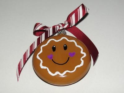 Gingerbread Girl Ornament Tutorial