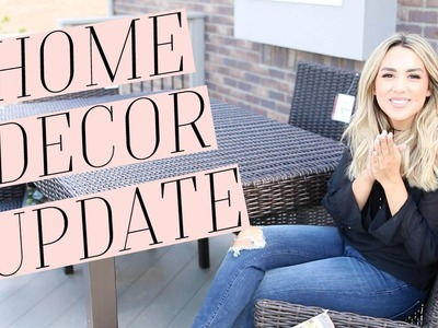 HOME DECOR & FURNITURE HAUL! HOUSE UPDATE