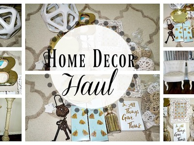 Home Decor Haul   Marshall's, Target, Kirklands