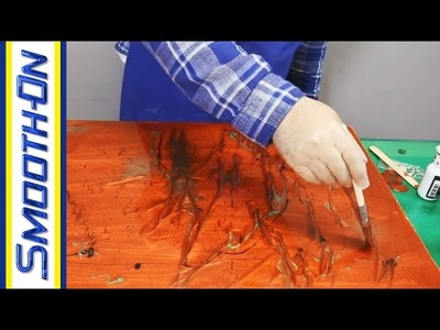 How To Create a Faux Marble Tabletop or Bartop Using Tarbender Epoxy