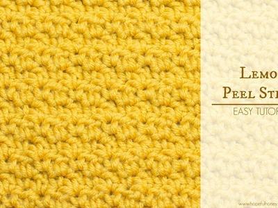 How To: Crochet The Lemon Peel Stitch - Easy Tutorial