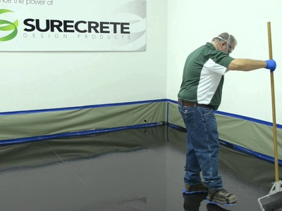 How to Make a 3D Metallic Floor - System by Surecrete