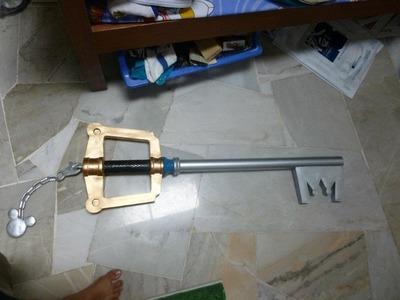How to make a keyblade (kingdom key)