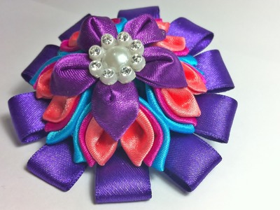 Kanzashi flower 3 Tutorial