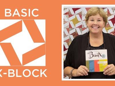 Make the Basic X-Block Ruler Quilt