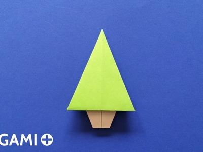 Origami Christmas Tree (Traditional model)