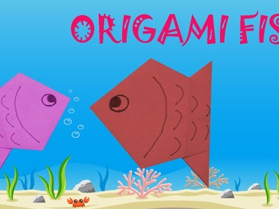 Origami Fish Tutorial - Origami Easy