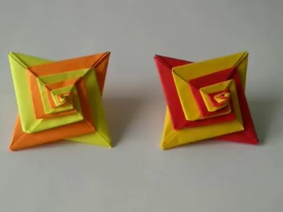 Origami Toys - How to make an Origami Star Minitips