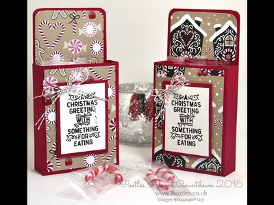 Pootles Advent Countdown 2016 #3 Candy Cane Lane Box