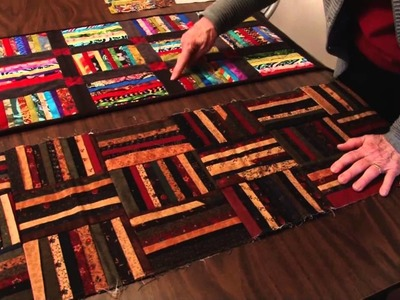 Scrap Quilting with Binding: Mill House Quilts' Tutorial 20