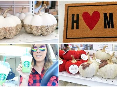 Shopping At Target, Tj Maxx & More - Fall & Home Decor