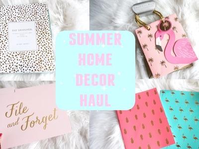 SUMMER HOME DECOR HAUL: Homegoods, Target, TJ Maxx